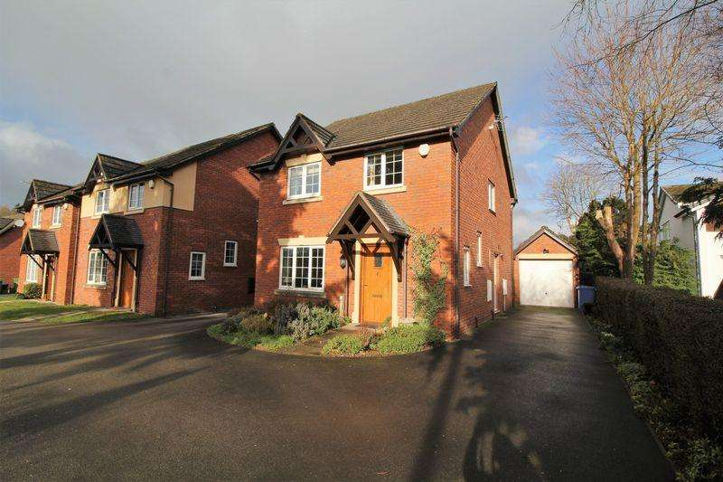 4 Bedrooms Detached House for sale in Telford Rise, Chirk