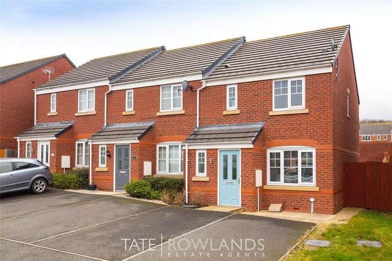 3 Bedrooms End Of Terrace House for sale in Ffordd Yr Ysgol, Flint, Flintshire, CH6