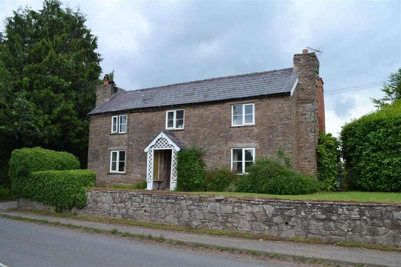 4 Bedrooms Detached House for sale in Epworth, Leysters, Nr Leominster