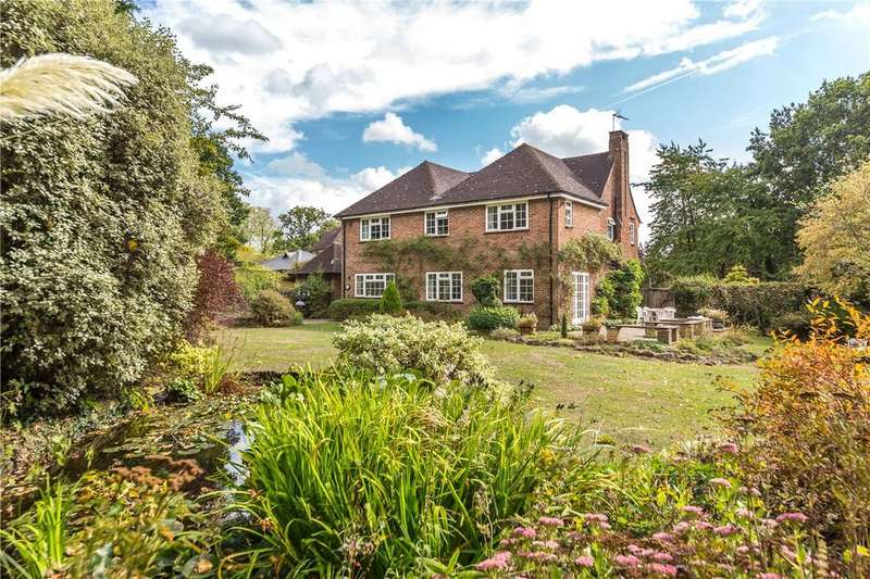 5 Bedrooms Detached House for sale in Sauncey Wood, Harpenden, Hertfordshire