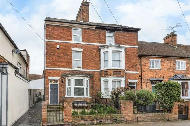 4 Bedrooms End Of Terrace House for sale in Newnham Street, Bedford