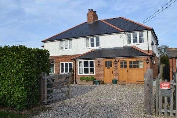 3 Bedrooms Semi Detached House for sale in Brunlea, Bramley Road, Sherfield-On-Loddon, Hook