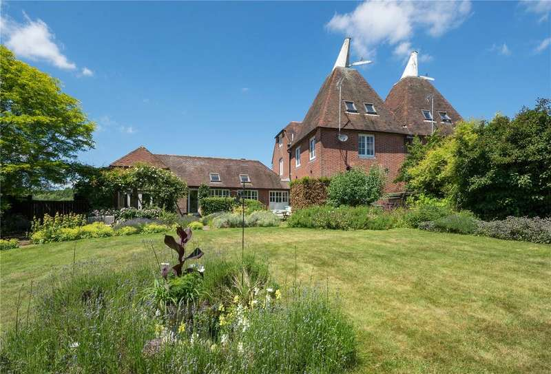 5 Bedrooms Semi Detached House for sale in Church Hill, Harbledown, Canterbury, Kent