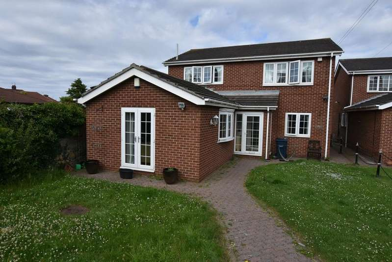 4 Bedrooms Detached House for sale in Freesia Gardens, Off Newcastle Road