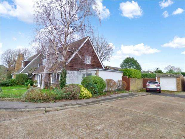 3 Bedrooms Detached House for sale in Larches Gardens, Fareham, Hampshire