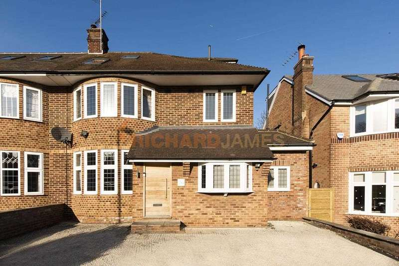 4 Bedrooms Semi Detached House for sale in Chiddingfold, Woodside Park