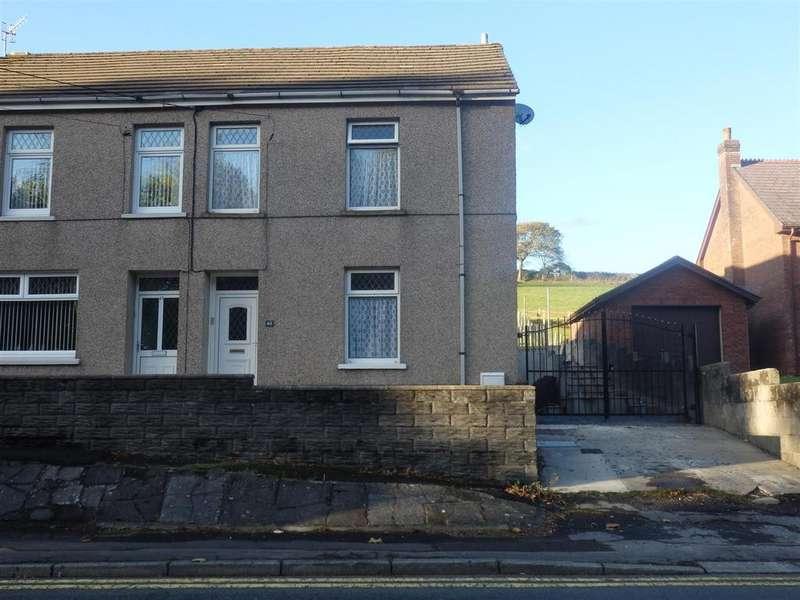 3 Bedrooms Semi Detached House for sale in Llethri Road, Llanelli