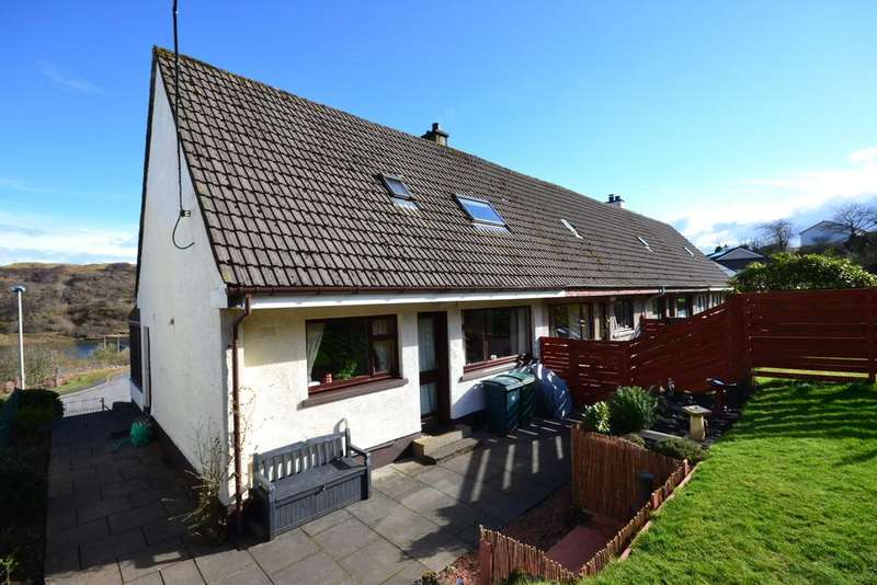 3 Bedrooms End Of Terrace House for sale in 5 Cnoc-a-challtuinn, Clachan Seil
