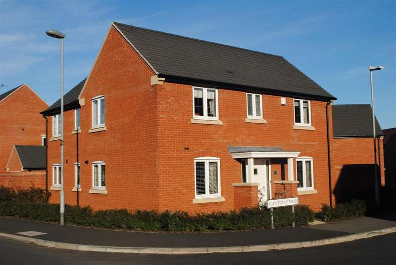4 Bedrooms Detached House for sale in Alan Turing Road, Loughborough