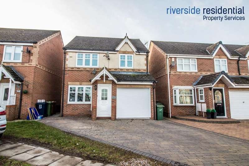 3 Bedrooms Detached House for sale in Marwell Drive, Usworth Hall, Washington, NE37