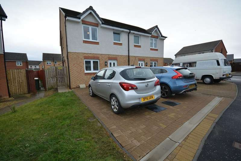 3 Bedrooms Semi Detached House for sale in Grouse Place, Kilmarnock, KA3