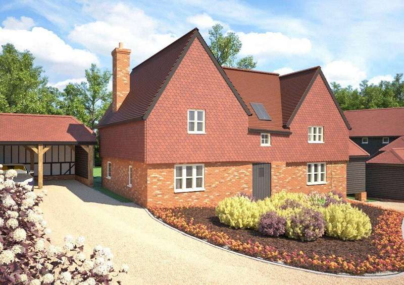 4 Bedrooms Detached House for sale in Razors Farm, Chineham, Basingstoke, RG24