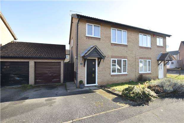 3 Bedrooms Semi Detached House for sale in Moor Croft Drive, Longwell Green, BS30 7DB