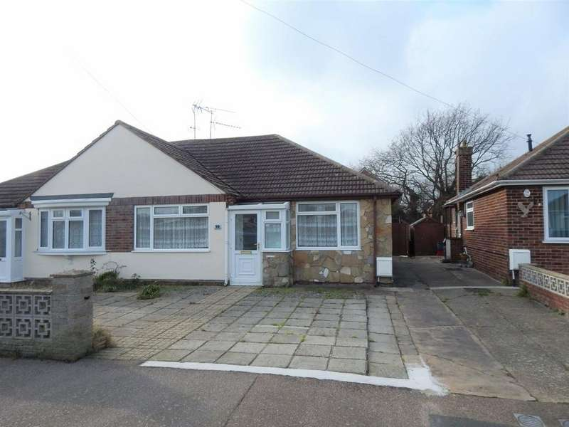 2 Bedrooms Semi Detached Bungalow for sale in BERYL ROAD, DOVERCOURT, HARWICH CO12