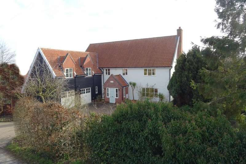 4 Bedrooms Detached House for sale in Baylham, Suffolk