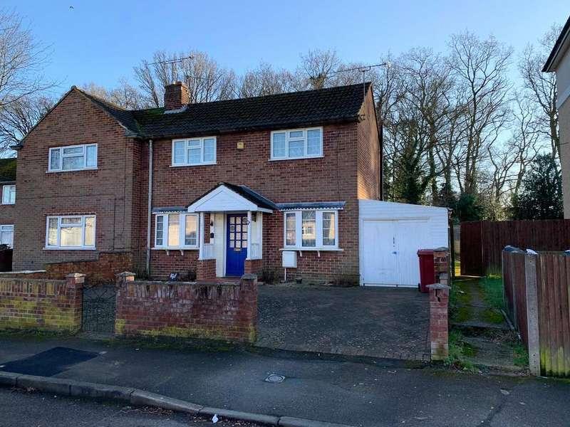 2 Bedrooms Semi Detached House for sale in Severn Way, Tilehurst, Reading, Berkshire, RG30