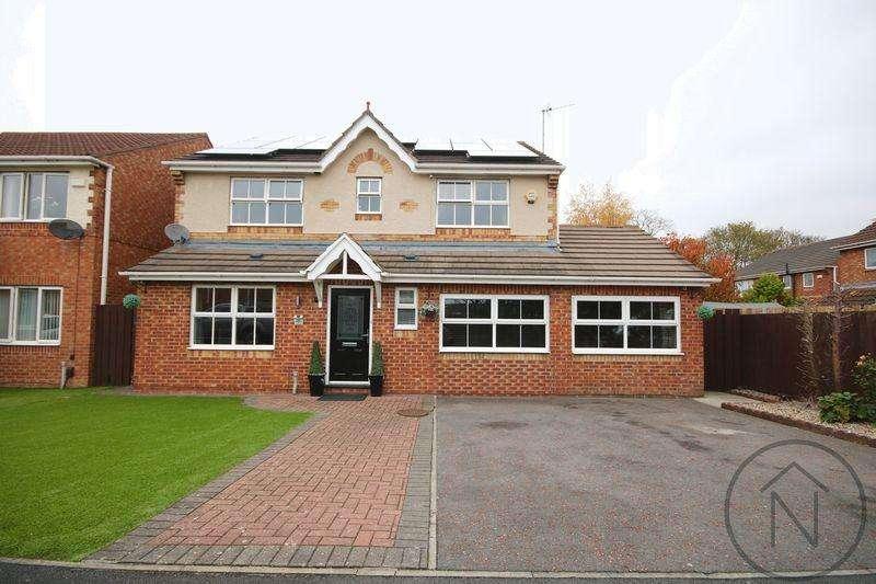 4 Bedrooms Detached House for sale in Elmcroft, Darlington