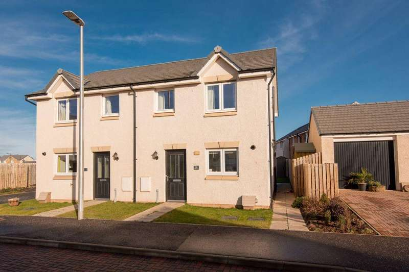 3 Bedrooms Semi Detached House for sale in 18 Marquette Place, Dunbar, EH42 1FF