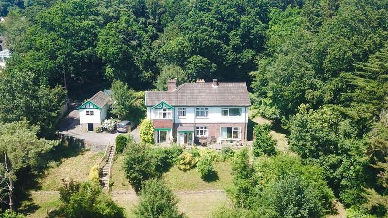 4 Bedrooms Detached House for sale in Tower House Lane, Wraxall, Bristol, North Somerset