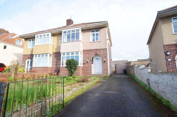 3 Bedrooms House for sale in Badminton Road, Downend, Bristol, BS16 6NG