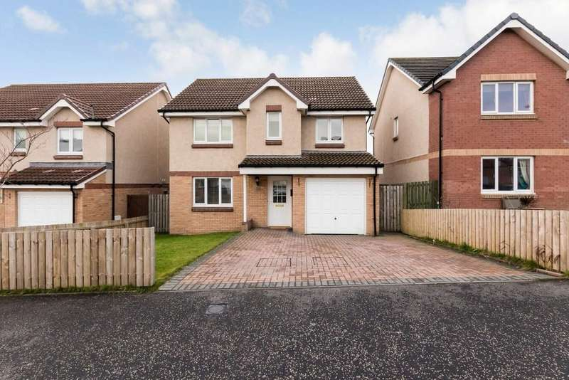 4 Bedrooms Detached House for sale in 63 Limepark Crescent, Kelty, KY4 0JZ