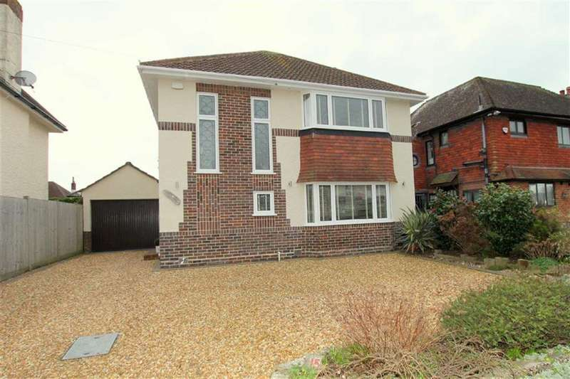 3 Bedrooms Detached House for sale in Seafield Road, Friars Cliff, Christchurch, Dorset