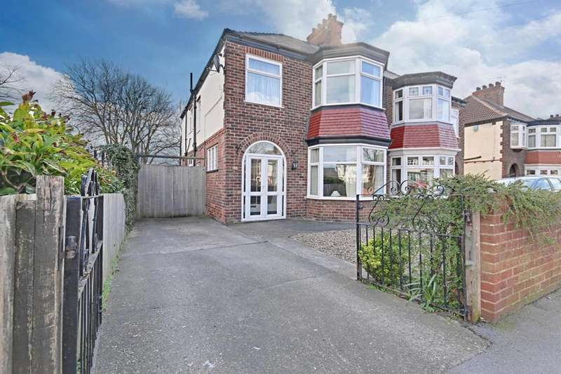 4 Bedrooms Semi Detached House for sale in Bricknell Avenue, Hull, East Riding Of Yorkshire, HU5