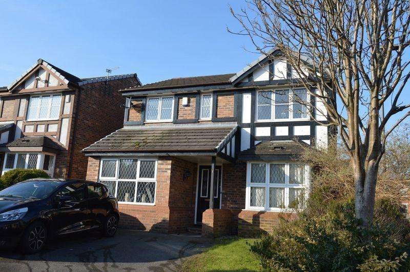 4 Bedrooms Detached House for sale in Maryfield Close, Golborne, WA3 3YD