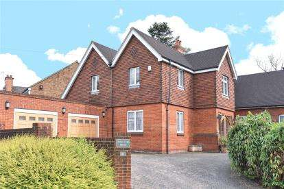 5 Bedrooms Detached House for sale in Corkscrew Hill, West Wickham