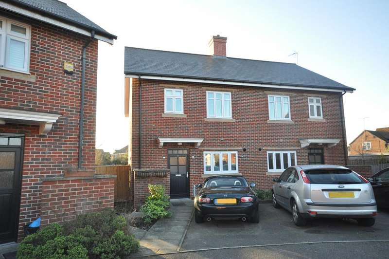3 Bedrooms Semi Detached House for sale in Gabriels Square, Lower Earley, Reading, RG6 3WN