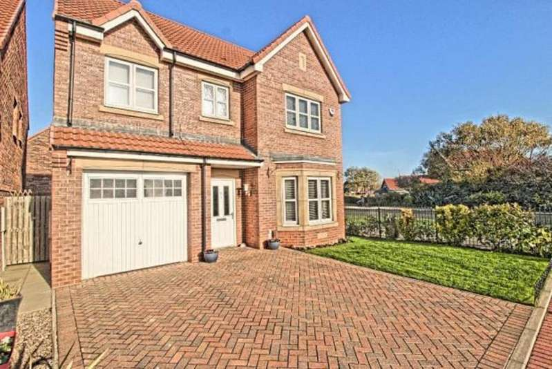 4 Bedrooms Detached House for sale in Foundation Close
