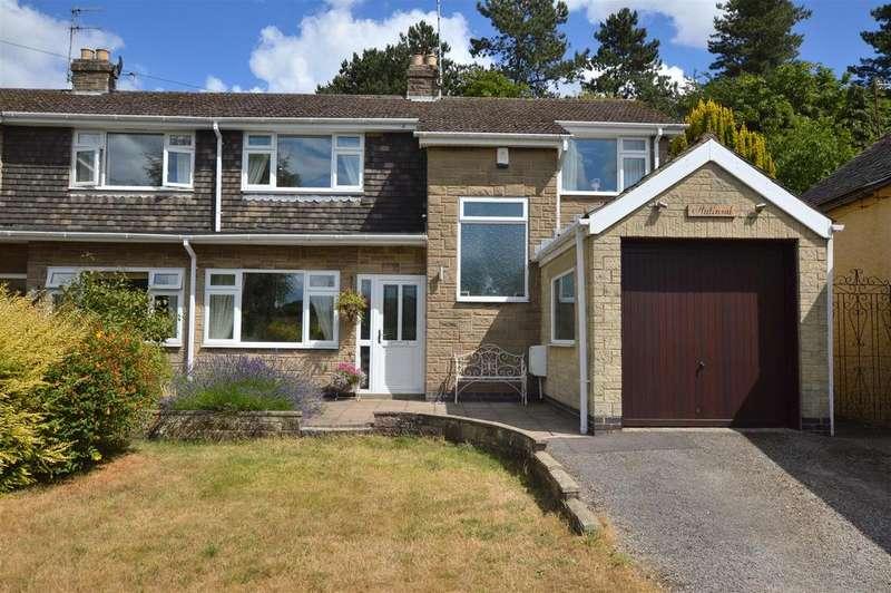 4 Bedrooms Semi Detached House for sale in Halland, Farnah Green, Belper