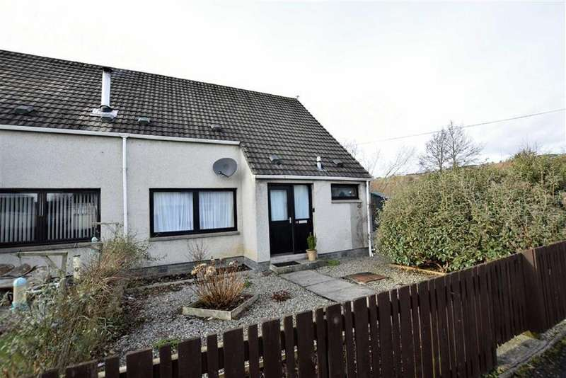 2 Bedrooms End Of Terrace House for sale in Peffery Road, Dingwall, Ross-shire