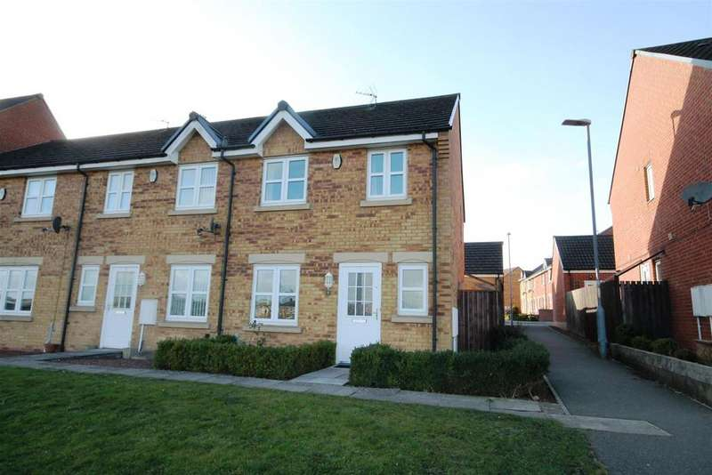 3 Bedrooms End Of Terrace House for sale in Peases Way, Crook