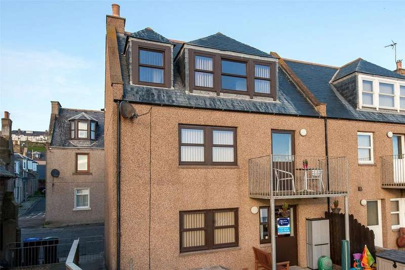 3 Bedrooms End Of Terrace House for sale in 20 William Street, Gourdon, Montrose, DD10