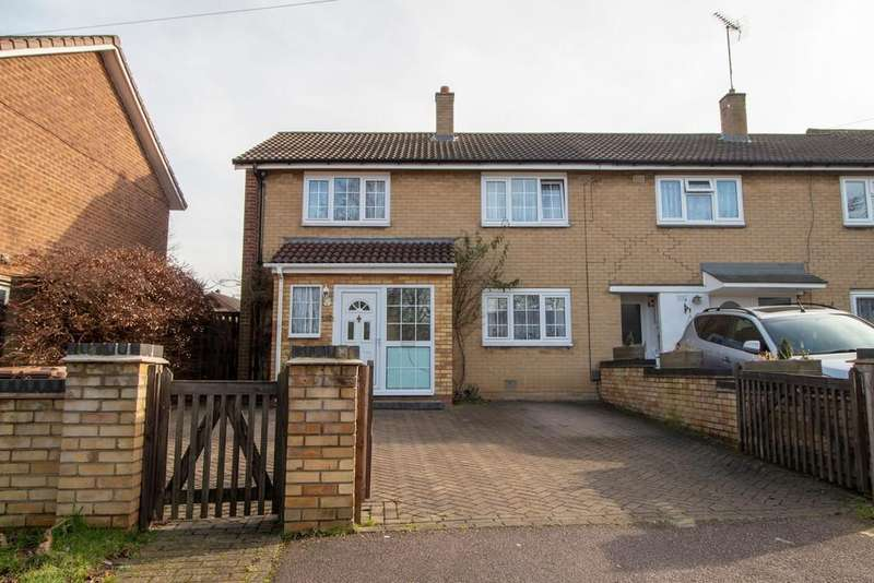 3 Bedrooms End Of Terrace House for sale in Ramsdell, Stevenage