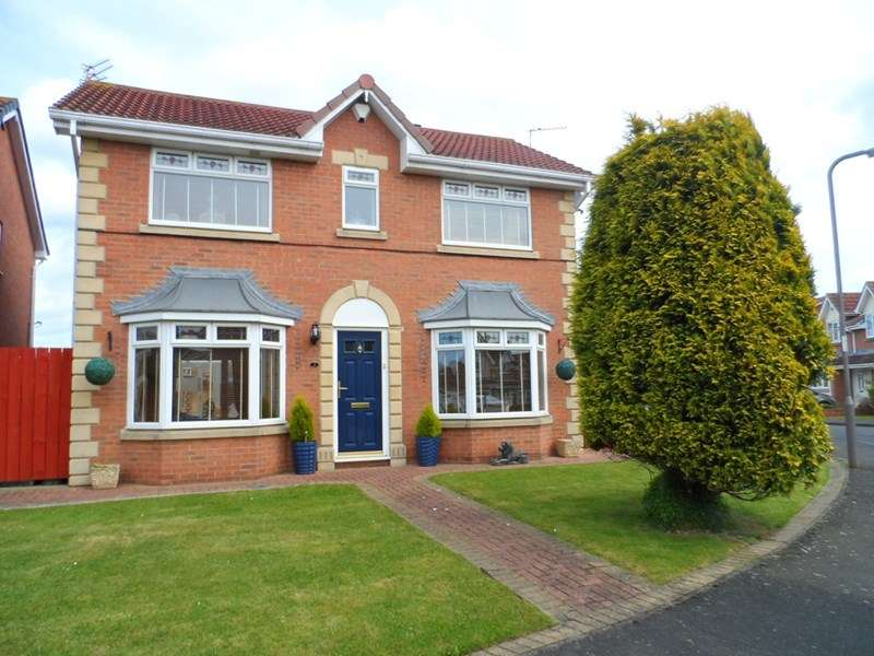 4 Bedrooms Property for sale in Chiltern Close, Ashington, Ashington, Northumberland, NE63 0HZ