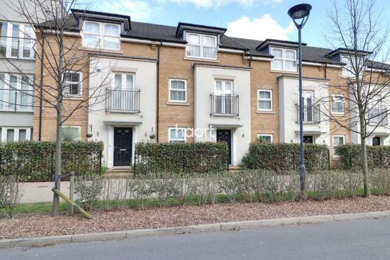 4 Bedrooms Town House for sale in Pennyroyal Drive, West Drayton
