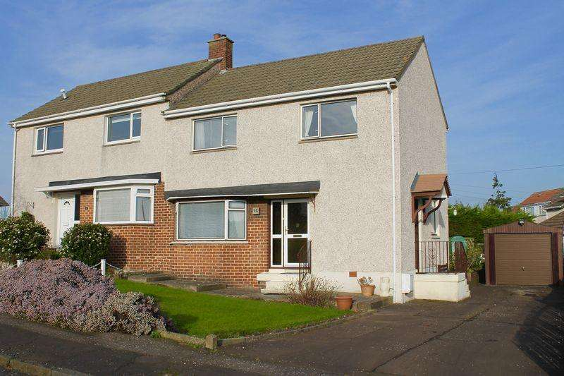 3 Bedrooms Semi-detached Villa House for sale in Sycamore Crescent, Ayr