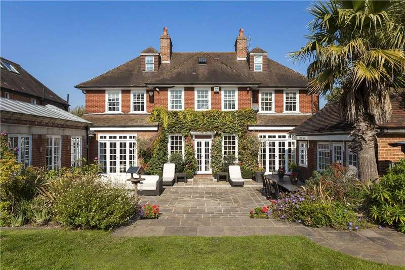 6 Bedrooms Detached House for sale in Ernle Road, Wimbledon, London, SW20