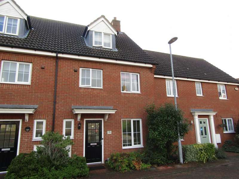 4 Bedrooms Terraced House for sale in St. Johns Road, Arlesey, SG15
