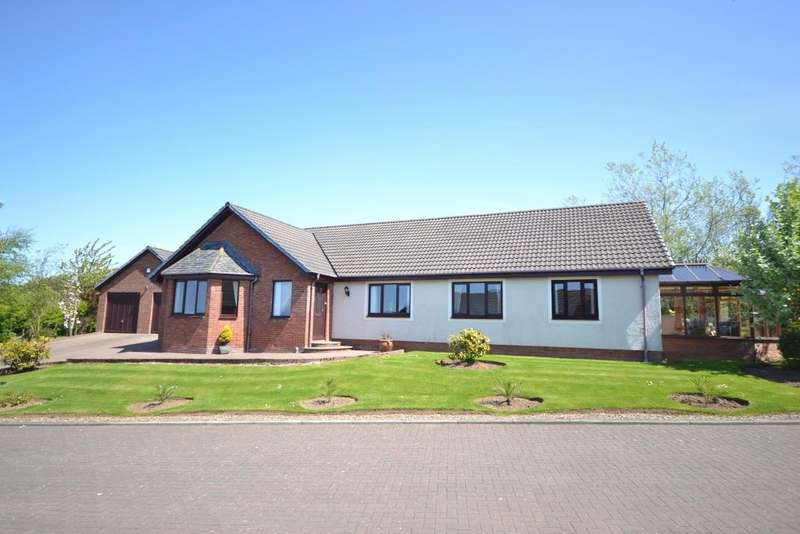 4 Bedrooms Detached Bungalow for sale in 74 Stable Wynd, Troon, KA10 7LY