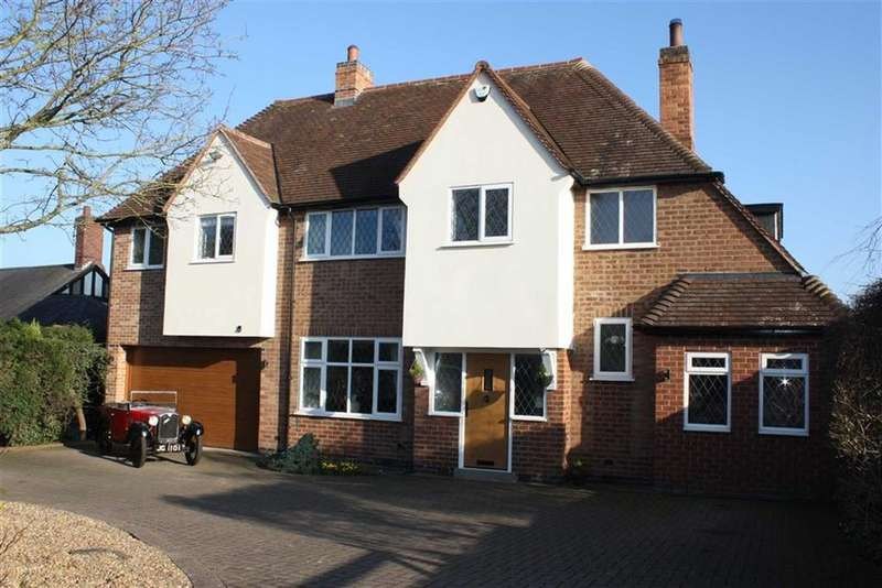 5 Bedrooms Detached House for sale in Station Road, Glenfield