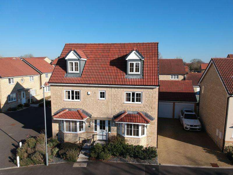 5 Bedrooms Detached House for sale in Hamilton Way, Whitchurch Village, BS14