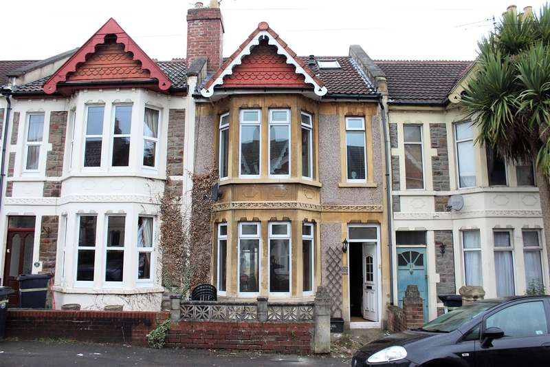 3 Bedrooms Terraced House for sale in Harrow Road, Brislington, Bristol