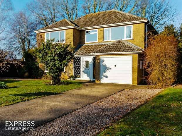 4 Bedrooms Detached House for sale in Abbots Way, Spalding, Lincolnshire