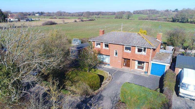 4 Bedrooms Detached House for sale in Highbridge Lane, East Chiltington, East Sussex