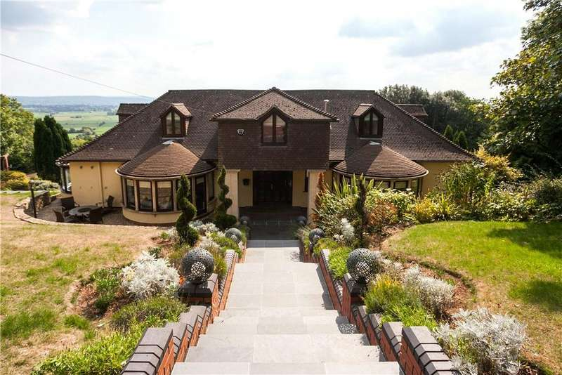 4 Bedrooms Detached House for sale in Cadbury Camp Lane, Tickenham, Bristol, North Somerset, BS21