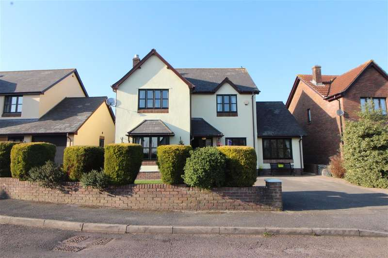 4 Bedrooms Detached House for sale in Church Rise, Undy