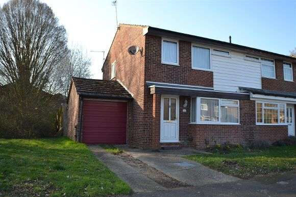 3 Bedrooms Semi Detached House for sale in Mackay Close, Calcot, Reading
